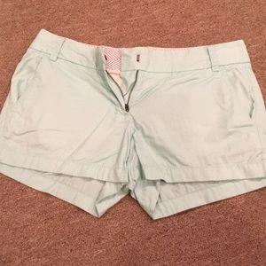 Size 2 J. Crew Chino shorts